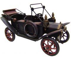 """Modestone 12"""" Classic Ford Model T Convertible Decorative Replica Metal Brown"""