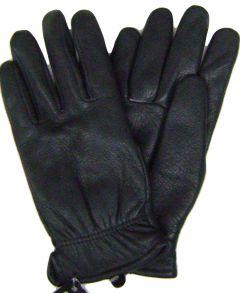 Modestone Women's Genuine Deerskin Gloves Black Thinsulate Lining