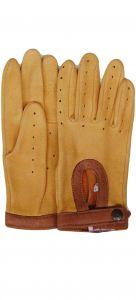 Modestone Men's Watson Trailbazer Genuine Deerskin Gloves 8 Tan