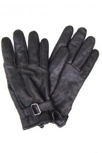 Modestone Women's Winter Gloves Deerskin Lined 3M Thinsulate Modestone M Black