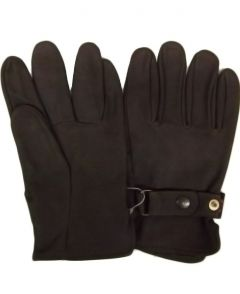 Modestone Men's Watson Genuine NuBuck Gloves 11 Brown
