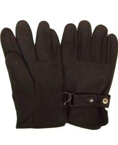 Modestone Men's Watson Genuine NuBuck Gloves 11 Brown