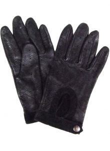 Modestone Men's Watson Trailbazer Genuine Deerskin Gloves 10 Black