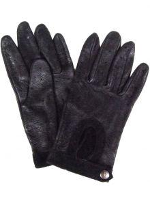 Modestone Men's Watson Trailbazer Genuine Deerskin Gloves 10 Black