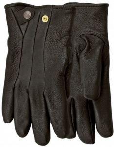 Modestone Men's Watson Black Stag Genuine Deerskin Gloves Black 10