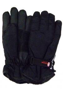 Modestone Men's Watson Sno Job Snowmobile Gloves Genuine Cowhide XL Black