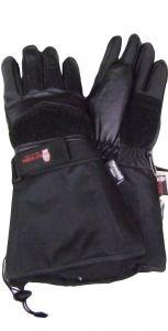 Modestone Men's Watson Sno Job Snowmobile Gloves Genuine Cowhide Black M