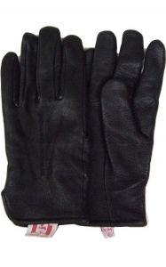 Modestone Men's Watson Genuine Deerskin Gloves Driver Style 9 Black
