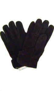 Modestone Men's Watson Genuine Buckskin Suede Gloves Brown 9 Lined