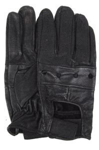 Modestone Unisex Glove Leather Black