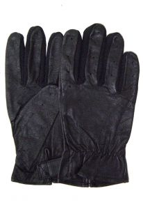 Modestone Women's Glove Leather Size 8 Black