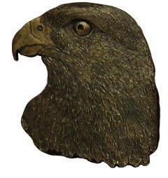 Modestone Men's Eagle Head Belt Buckle O/S Brass Color