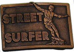 Modestone Street Surfer Skateboard Vintage 1976 Nick Snook Design Buckle