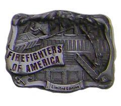 Modestone Firefighters Of America Limited Edition Rescue Scene Buckle O/S