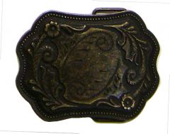 Modestone Western Filigree Buckle O/S Bronze