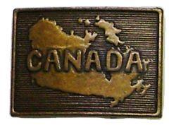 Modestone Canada Buckle O/S Bronze