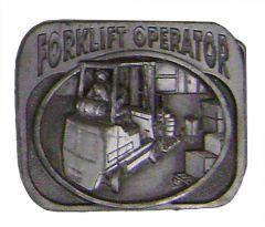 Modestone Men's Forklift Operator Buckle O/S Silver