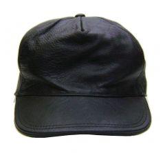 Modestone Men's Leather Baseball Cap L/Xl