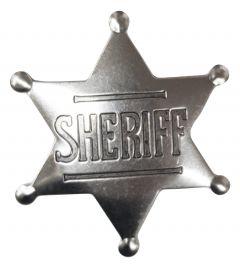 Modestone Men's Sheriff Star Pin O/S Silver