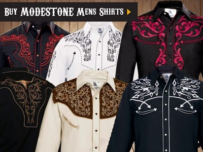 western country rodeo line dancing Men's Fine Quality Cotton and Polycotton Shirts For the Entire Family. Washable, easy-care fabrics, non shrink and no ironing. Most products with detailed embroidering on the front, back and cuffs available with rhinestones. All items can be ordered in long and short sleeves